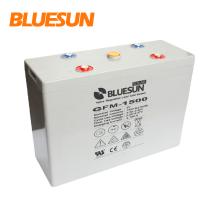 Bluesun tiefe lange Lebensdauer hocheffiziente Solarenergiespeicher-Gel-Batterie 2V1000Ah 1500Ah