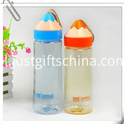Promotional Food Grade Plastic Students Cup with Pencil Shaped Cap2