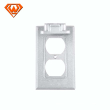 vertical one gang weatherproof junction box cover