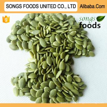 Meilleures graines de citrouille Shineskin Kernels New Crop