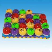 Peg top surprise toy candy Fruits Popping candy