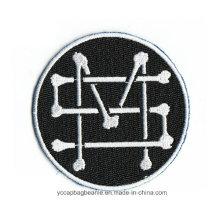 Remendo personalizado do bordado da segurança, emblemas do bordado, remendos bordados do braço