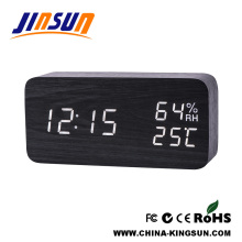 New Function Alarm Clock With Humidity And Temperature