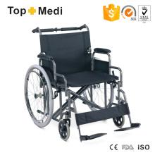 Bariatrisch behinderter Rollstuhl mit breiterem Sitz