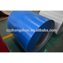 Hojas de color revestido / bobinas azul astm jis hecho en china