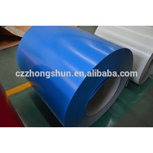 Feuilles / bobines colorées bleu astm jis fabriquées en Chine