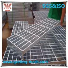 Grade de barra de aço galvanizado mergulhada a quente de manufatura profissional
