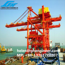 Grab Ship Unloader 600-1000T/H for bulk material cargo loading and unloading