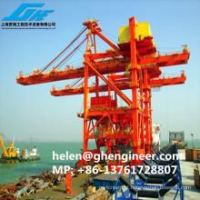 Desembarque de navios de empacotamento 600-1000T / H para carga e descarga de carga de material a granel