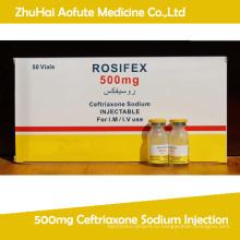 500 мг Цефтриаксон натрия инъекции