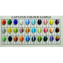 Cat′s Eye Stone Color Chart