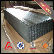 Tôle d'acier inoxydable galvanisée de 900 mm / tôle d'acier galvanisée / toiture métallique à prix bon marché