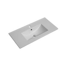 Meuble de salle de bain lavabo en céramique