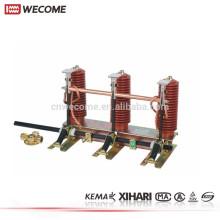 KEMA a témoigné l'interrupteur de mise à la terre de haute tension 12KV 1250A UNIGEAR