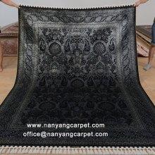 6'x9' Hand Knotted Silk Luxury Turkish Rug