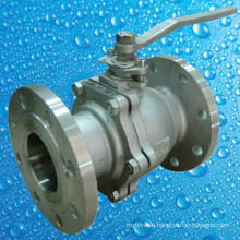 ANSI Cast Steel Wcb Floating Type Flange End Ball Valve
