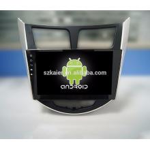 Kaier OEM car Gps/auto Gps navigator/ vehicle stereo gps navigation with carplay sd slot for verna/solaris