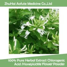 100% de extrato de ervas puras ácido clorogênico / flor de madressilva em pó