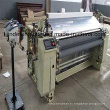 Máquina de telar con chorro de agua, con doble alimentador electrónico de boquillas