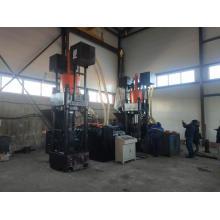 Prensa briquetadeira hidráulica, máquina de reciclagem de sucata