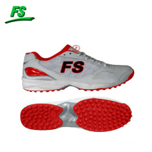 Cheap man cricket shoes with rubber spike,best style hockey shoes