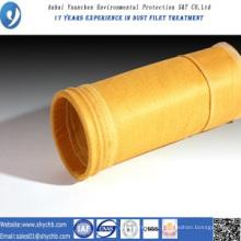 Bolsa de filtro de colector de polvo P84 para planta mezcladora de asfalto
