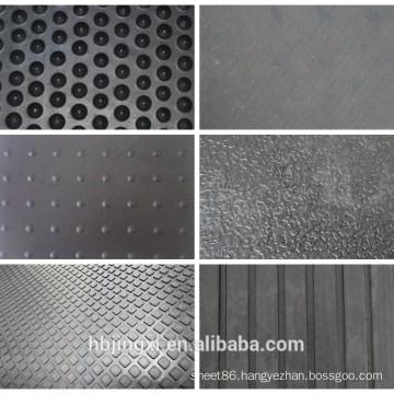 All Kinds Of Patterns Stable Cow Rubber Mat For Sale