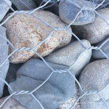 2x1x1m gabion box, 80x100 gabion wall, retaining wall for river protection