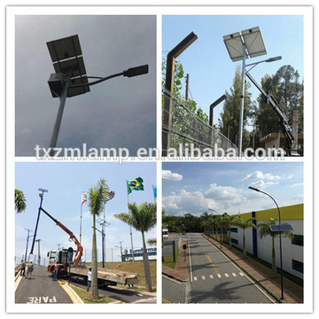 120w solar street light outdoor charge controller