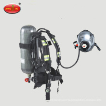 Positive pressure air breathing apparatus Air respirator for mining use
