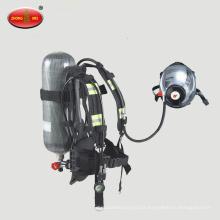 Aparelho de respiração com pressão positiva de ar Respirador de ar para uso mineiro