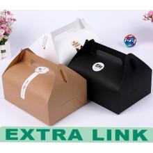 Caja de alimentación de lujo reciclable de la impresión del empaquetado de Kraft del final exclusivo 2016 del extremo superior
