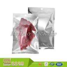 Embalaje de la categoría alimenticia Bolsas de empaquetado modificadas para requisitos particulares biodegradables de la hoja plástica biodegradable del vacío del vacío de la carne de vaca