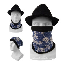 Custom Design Wholesale Cheap Multifunctional Winter Neck Warmer With Fleece
