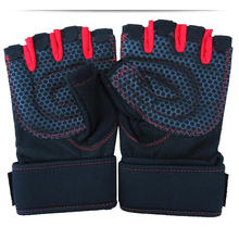 Barbell haltérophilie en gros moitié doigt gants sans doigts de remise en forme