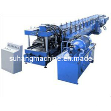 Máquina formadora de rolos de chapa de aço com canal U