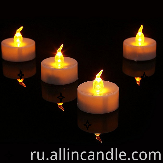 Flameless LED Tealight Candles