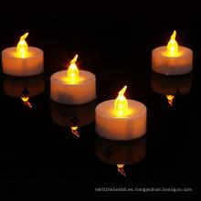 Velas LED Tealight con pilas, paquete de 24