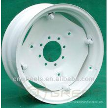 16-дюймовые белые диски для продажи, используемые для прицепов, тракторов и внедорожников