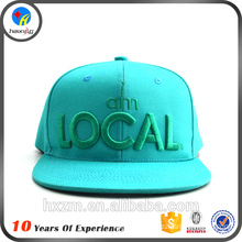 Latest design embroidery logo hip hop cap