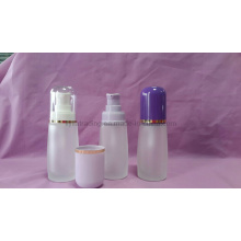 30ml Frost Glass Lotion Bottle with Sprayer (klc-8)