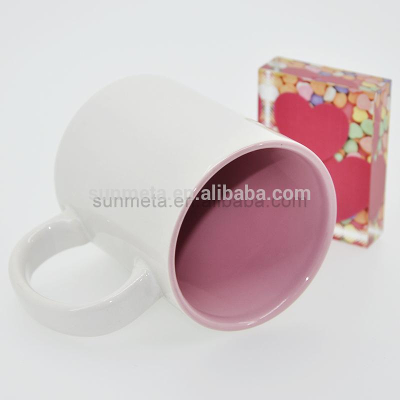 FREESUB Sublimation Heat Press Mug With Photo