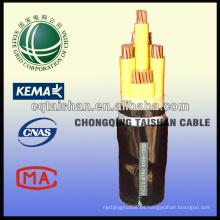 Cable de alimentación de corriente continua impermeable de la rejilla del estado