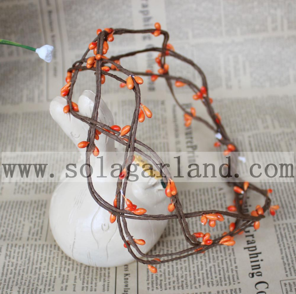 Flower Garland Orange