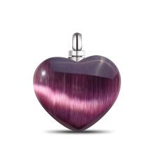 Collar de moda con forma de corazón