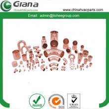 Copper pipe fitting connector coupling