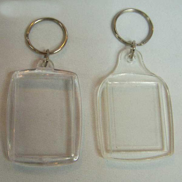 Acrylic photo key chain,promotional items keychains