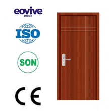 Mdf inside door material pvc door price