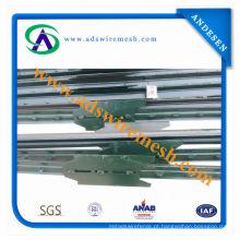 Metal de alta qualidade T Post com placa para venda
