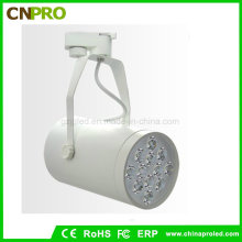 White Black Housing 12W LED Track Lighting Rail Lamp